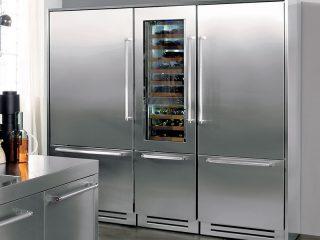KitchenAid rvs koelvries combi & wijnkoeler