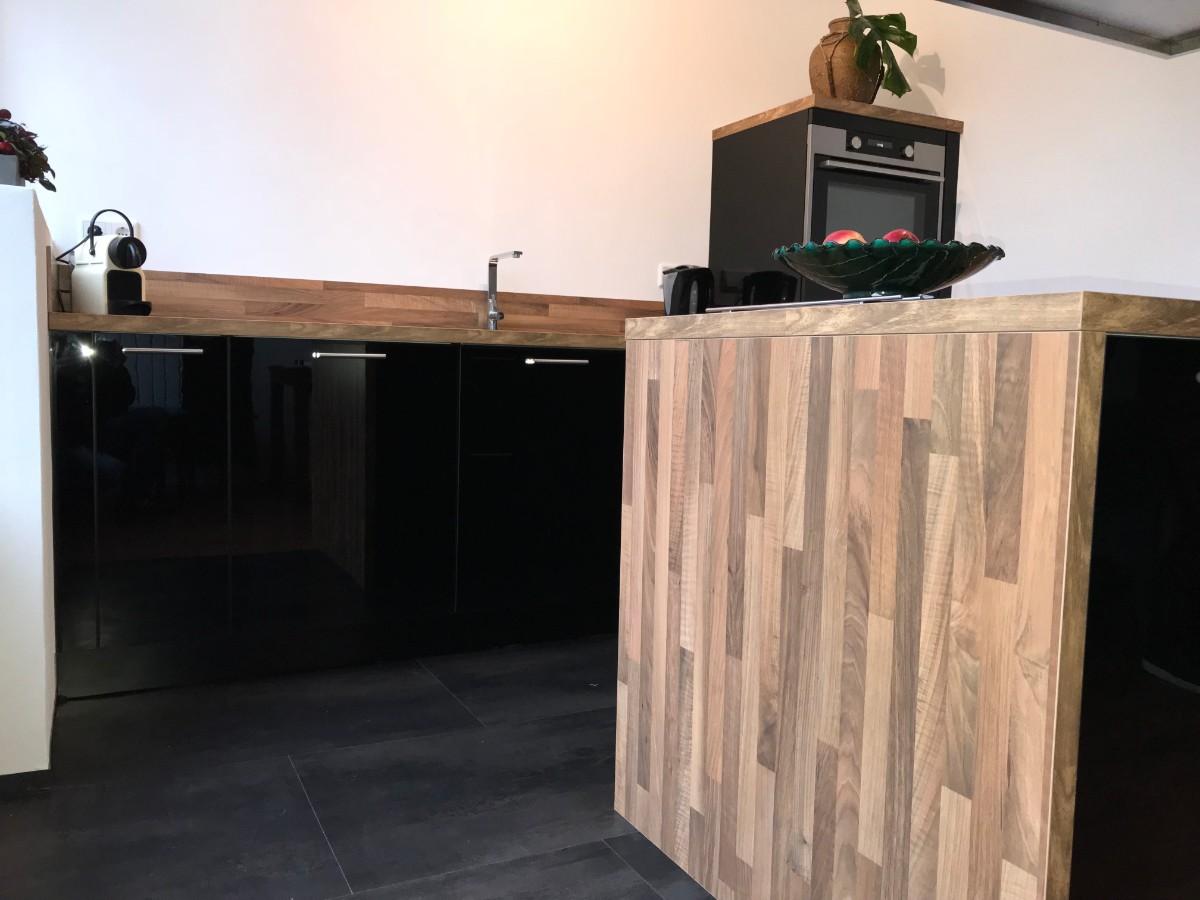 Hoogglans zwarte keuken your new kitchen